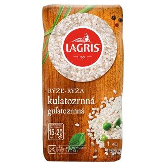 Lagris Round Grain Rice Peeled 1 kg