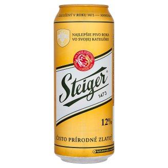 Steiger 12% Light Lager 0.5 L