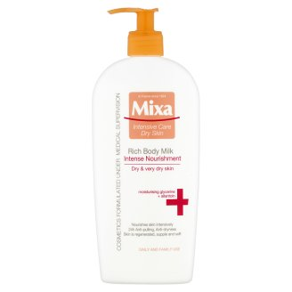 Mixa Intensive Care Dry Skin Intenzívne vyživujúce telové mlieko 400 ml