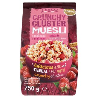 Tesco Mixture of Baking Cereal Flakes with Raspberries 750 g