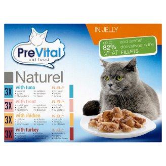 PreVital Kompletné krmivo pre kastrované mačky 12 x 85 g