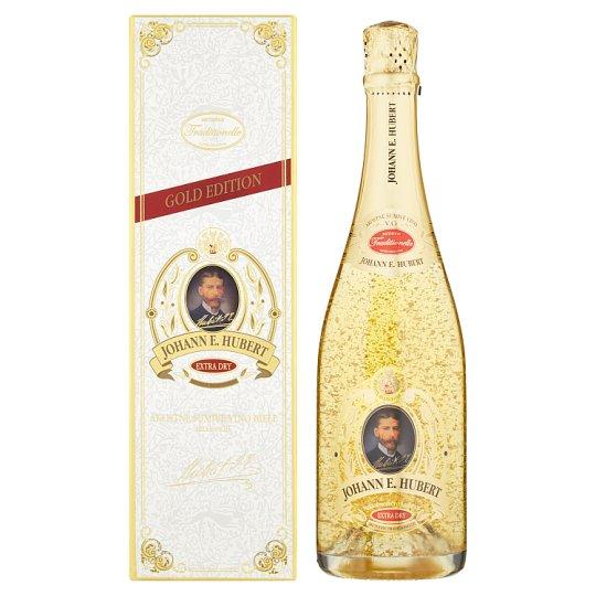 Johann E. Hubert Gold Edition Quality Sparkling Extra Dry White Wine 0.75 L