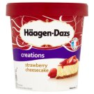 Häagen-Dazs Ice Cream with Strawberry Topping and Biscuits 500 ml