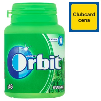 Wrigley's Orbit Spearmint žuvačka bez cukru 46 ks 64 g