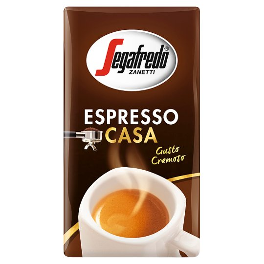 Segafredo Zanetti Espresso Casa Roasted Ground Coffee 250 g