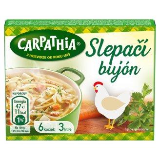CARPATHIA Chicken Broth in a Cube 3 L 6 x 10 g