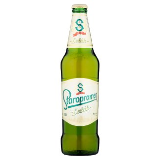 Staropramen Ležák Light Lager Beer 0.5 L