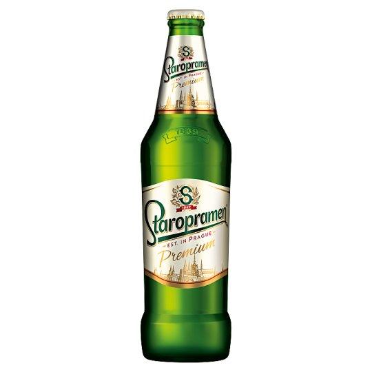 Staropramen Ležák Light Lager Beer 0.5 L