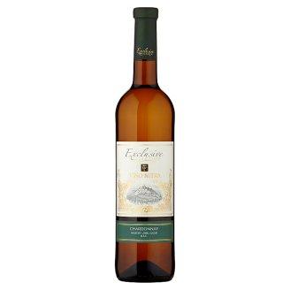 Víno Nitra Exclusive Collection Chardonnay víno biele neskorý zber suché D.S.C. 0,75 l