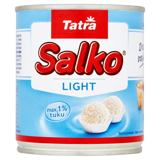 Tatra Salko Light Concentrated Defatted Milk with The Addition of Sucrose 397 g