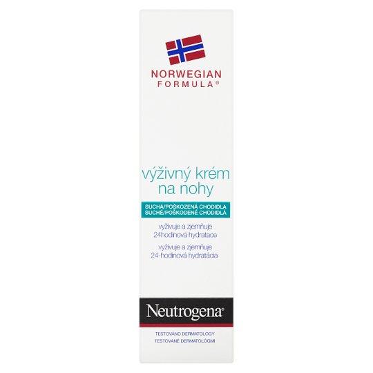 Neutrogena Výživný krém na nohy 50 ml