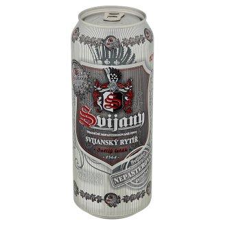 Svijany Svijanský rytíř pivo svetlý ležiak 0,5 l