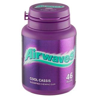 Wrigley's Airwaves Cool cassis pixľa žuvačka bez cukru s príchuťou mentolu 46 dražé 64 g