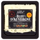Tesco Finest Bleu D´Auvergne - Polomäkký zrejúci plnotučný syr s modrou plesňou 150 g