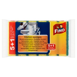 Fino Kitchen Sponges 5 + 1 pcs