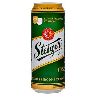 Steiger 10% pivo výčapné svetlé 0,5 l