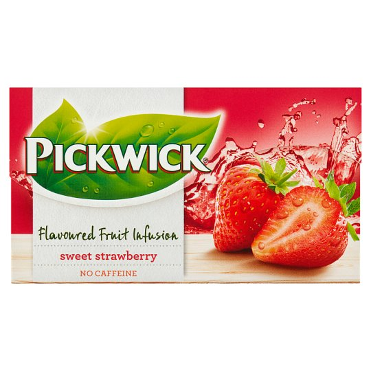 Pickwick Flavoured Fruit Infusion Sweet Strawberry 20 x 2 g