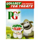 PG Tips 100 % Natural Portioned Black Tea 80 Pyramid Teabags 250 g
