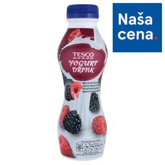 Tesco Yogurt Drink with Berries 350 g