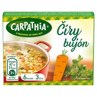CARPATHIA Karpatský číry bujón v kocke 3 l 6 x 10 g