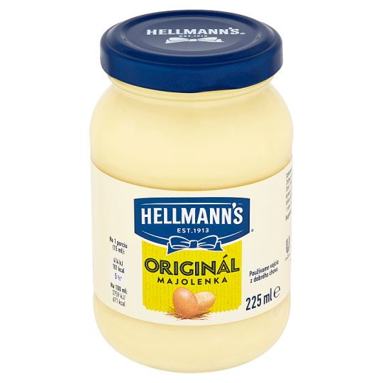 Hellmann's Originál majolenka 225 ml