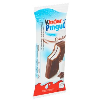 Kinder Pingui Sponge Cakes with Milk Filling Covered with Chocolate 30 g