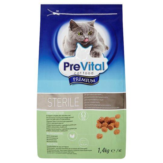 PreVital Premium Kompletné krmivo pre dospelé sterilizované mačky 1,4 kg