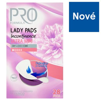 Tesco Pro Formula Lady Incontinence Pad Ultra Mini 28 pcs