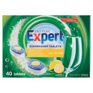 Go for Expert Lemon tablety do umývačky riadu 40 x 18 g