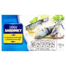 Tesco Sardines in Sunflower Oil 120 g