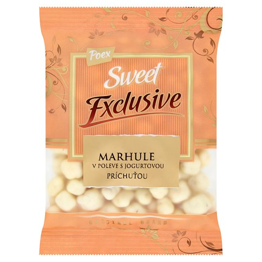 Poex Sweet Exclusive Apricots in Glaze with Yoghurt Flavour 200 g