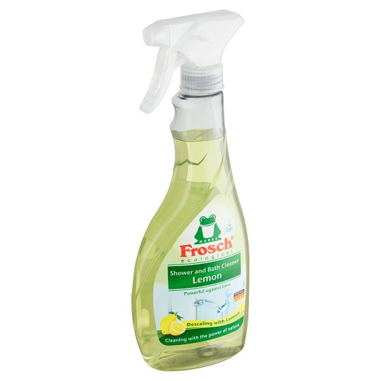 Frosch Ecological Bathroom and Shower Cleaner with Lemon 500 ml