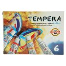 KOH-I-NOOR Set of Tempera Colours 6 x 16 ml
