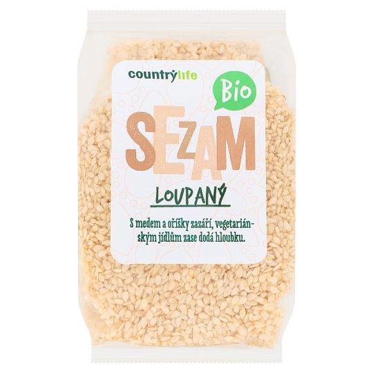 Country Life Organic Sesame Peeled 100 g