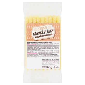 Tesco Crispy Corn Slices with Fiber 65 g