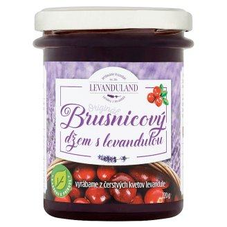 Levanduland Originál brusnicový džem s levanduľou 220 g