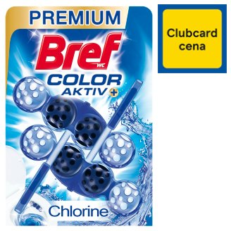 Bref Blue Aktiv Chlorine tuhý WC blok 2 x 50 g
