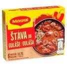 MAGGI Goulash Sauce in Cube 0.75 L 6 x 10 g