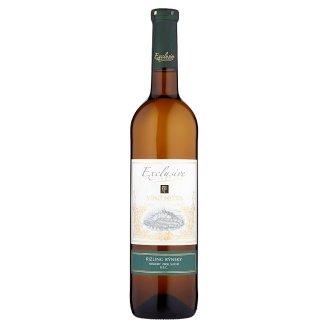 Víno Nitra Exclusive Rizling rýnsky víno biele neskorý zber suché D.S.C. 0,75 l