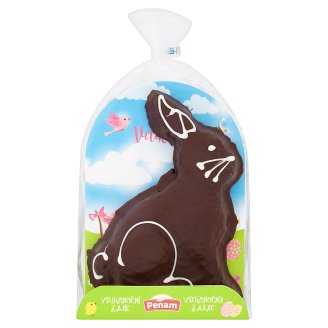 Penam Easter Bunny with Frosting Dark 200 g