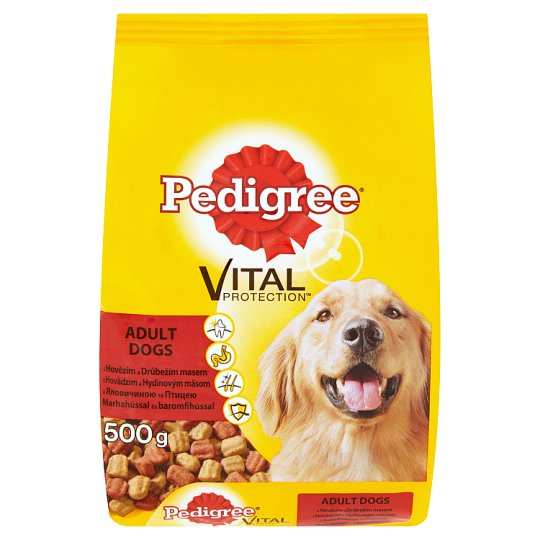 Vital Protection Pedigree Poultry and Beef Complete Food for Adult Dogs 500 g