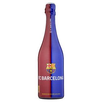 FC Barcelona Nealkoholický sýtený nápoj s jablkovou a jahodovou šťavou 750 ml