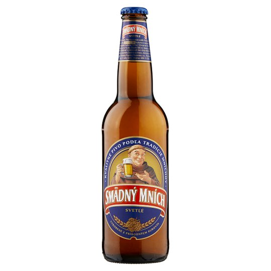 Smädný Mních Light Beer 10% 500 ml