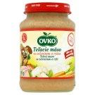 Ovko Teľacie mäso so zeleninou a ryžou 190 g