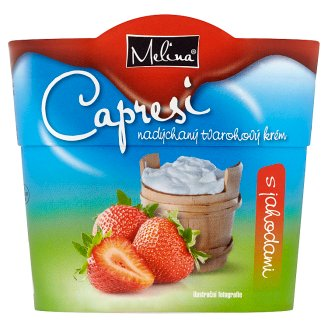 Melina Capresi Fluffy Cream Cheese with Strawberries 150 g