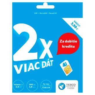 Tesco mobile SIM Card with Credit 3.90 €