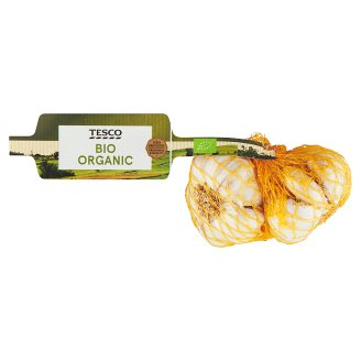 Tesco Organic BIO cesnak biely 2 ks