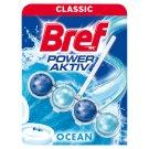 Bref Power Aktiv Ocean Breeze tuhý WC blok 50 g