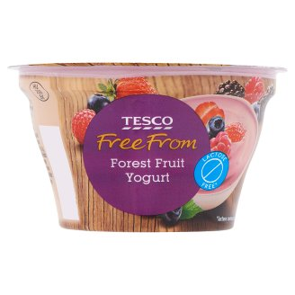 Tesco Free From Lactose Free Yogurt with Forest Fruit 150 g