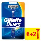 Gillette Blue3 Men's Disposable Razors – 8 Pack